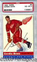 Miscellaneous, 1954-55 TOPPS GORDIE HOWE. From their first venture into the ho...