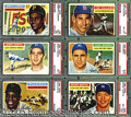 Miscellaneous, 1956 TOPPS BASEBALL COLLECTION. Here presented is a crisp colle...