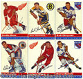 Miscellaneous, 1954/55 TOPPS HOCKEY SET. We're all quick to ridicule, but let ...