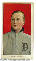 Miscellaneous, T206 TY COBB. Certainly by premeditation, the designers of the ...