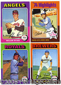 Miscellaneous, 1975 TOPPS BASEBALL SET. Fast becoming one of the most popular ...