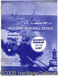 Miscellaneous, 1945 ALL-STAR GAME PROGRAM. Perhaps one of the most flagrant om...