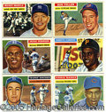 Miscellaneous, 1956 TOPPS BASEBALL SET. Here available is the standard '56 Top...