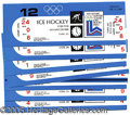 Miscellaneous, 1980 WINTER OLYMPICS - SET OF UNUSED USA HOCKEY TICKETS. While ...