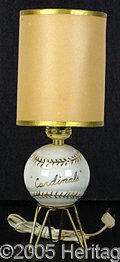 Miscellaneous, HIGHLY UNUSUAL ST. LOUIS CARDINALS' SOUVENIR LAMP IN CLASSIC EAR...