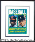 Miscellaneous, SIGNIFICANT MANTLE/ FRANK ROBINSON AUTOGRAPHED ITEM. The cover s...