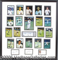Miscellaneous, VERY SHOWY SIGNED PHOTO COLLAGE OF THE 1959 WHITE SOX. This beau...