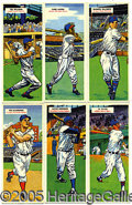 Miscellaneous, 1955 TOPPS DOUBLE HEADER SET. As they were about to capture sup...