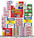 Miscellaneous, VINTAGE BASEBALL CARD WRAPPER COLLECTION. Through the years, th...