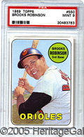 Miscellaneous, 1969 TOPPS BROOKS ROBINSON. For those readers who admire Brooks...