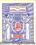 Miscellaneous, UNIQUE TY COBB SHEET MUSIC. This attractive large-size sheet mu...