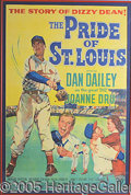 Miscellaneous, ONE OF THE ALL-TIME CLASSIC BASEBALL MOVIE POSTERS. This early ...
