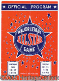 Miscellaneous, TOUGH 1940 ALL-STAR PROGRAM. A pleasing example of this scarce ...