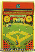 Miscellaneous, MID- '20'S BASEBALL TABLE GAME. Probably made in the mid-1920's...