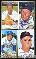 Miscellaneous, 1964 TOPPS GIANTS AUTOGRAPHED NEAR SET. The 60-card supplement...