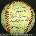 Miscellaneous, HALL OF FAMER SIGNED BALL. A universally reveled treat. Here em...