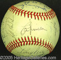 Miscellaneous, 1990 CINCINNATI REDS' BALL. Appropriately, this ONL (White) bal...