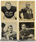 Miscellaneous, 1949 BOWMAN FOOTBALL SET. One of our great mysteries is remembe...