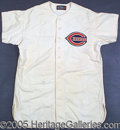 Miscellaneous, 1946-1950 Era CINCINNATI REDS' JERSEY. It's simply magnific...