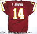Miscellaneous, DOUG JOHNSON GAMEWORN JERSEY. We introduce this jersey to affir...