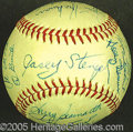 Miscellaneous, 1963 METS-SIGNED BALL. By the medium of an ONL (Giles) ball, 20 ...