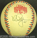 Miscellaneous, MCGWIRE SINGLE-SIGNED BALL. Of his gallery of accolades, Mark M...