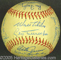 Miscellaneous, 1963 DODGERS SIGNED BALL. Now well-acclimated to Southern Calif...