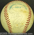 Miscellaneous, 1977 YANKEES-SIGNED BALL. After capping their second of three c...