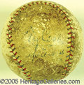 Miscellaneous, TY COBB SINGLE-SIGNED BALL. One of the great treasures in our a...