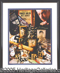Miscellaneous, A PAIR OF JOE DIMAGGIO AUTOGRAPHED LIMITED-EDITION PRINTS. No. ...