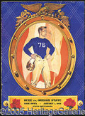 Miscellaneous, 1942 ROSE BOWL GAME PROGRAM. There's a determination in our fab...