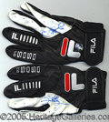 Miscellaneous, SIGNED GAMEUSED SOSA BATTING GLOVES 305. Of course, we make no ...
