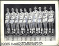 Miscellaneous, 1948/49 BALTIMORE BULLETS SIGNED TEAM PHOTO. In the broadest se...