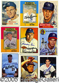 Miscellaneous, LARGE AUTOGRAPHED CARD COLLECTION OF 69. Basically this collect...