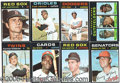 Miscellaneous, 1971 TOPPS BASEBALL SET. If ever there were an issue engineered...