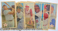 Miscellaneous, 1968 TOPPS POSTER SET. If we forgive the compacting folds, this...