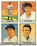 Miscellaneous, 1941 PLAY BALL SET. With no satisfactory explanation, the belie...