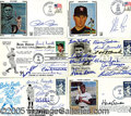 Miscellaneous, AUTOGRAPHED FDC COLLECTION. Among their several virtues, the si...
