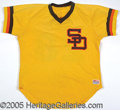 Miscellaneous, BOBBY TOLAN GAMEWORN JERSEY. A very nice San Diego knit, from 1...