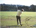 "Miscellaneous, TWO FINE AUTOGRAPHED GOLF PHOTOS. Two large 11 x 14"" photos of ..."