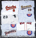 Miscellaneous, REPLICA JERSEY COLLECTION. There are eight of them here, each u...