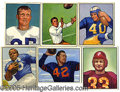 Miscellaneous, 1950 BOWMAN FOOTBALL COLLECTIO. This collection, comprised of 9...