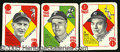 Miscellaneous, 1951 TOPPS BLUEBACK SET. By far the more difficult of their two...