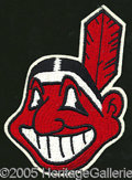 Miscellaneous, 1960'S CLEVELAND INDIANS UNIFORM PATCHES. Among the most disting...
