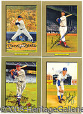 "Miscellaneous, PARTIALLY SIGNED, COMPLETE SET ""GREAT MOMENTS"". Over an eleven ..."
