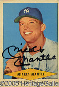 Miscellaneous, MANTLE-SIGNED RED HEART. Among the most popular card images of ...
