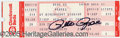 "Miscellaneous, ROSE-SIGNED TICKET. Not just any ticket though. The date is ""Se..."