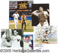 Miscellaneous, YANKEE HOFERS SIGNED PHOTOS. This impressive group of signed ph...