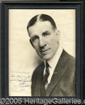 Miscellaneous, JAMES CORBETT SIGNED PHOTO. His countenance would pass for that ...