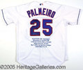 Miscellaneous, PALMIERO COMMEMORATIVE JERSEYS. Beautifully stitched on the reve...